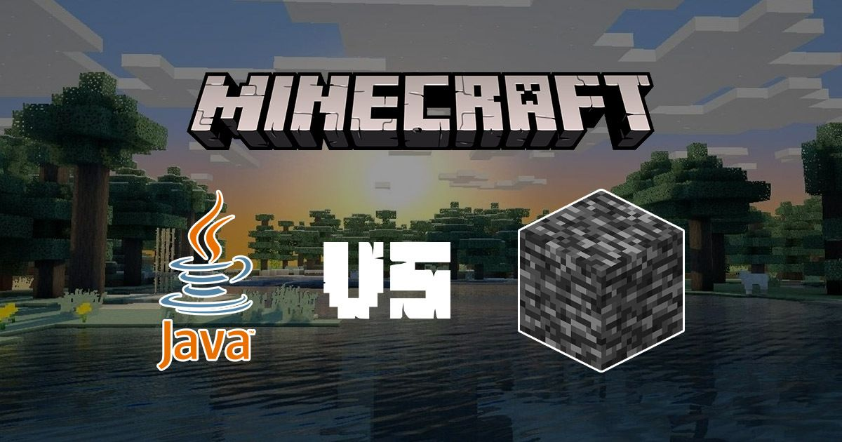 Minecraft Java vs Minecraft Bedrock Edition What #39 s the